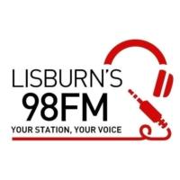 Logo of radio station Lisburn's 98FM