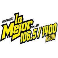 Logo of radio station KSUN La Mejor 106.5 FM y 1400 AM