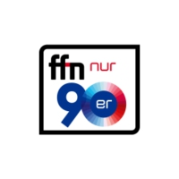 Logo of radio station ffn - nur 90er