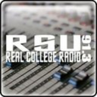 Logo of radio station KRSC RSU Radio