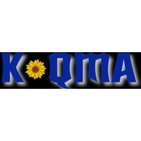 Logo of radio station KQMA 92.5 FM