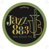 Logo of radio station KSDS Jazz 88.3 FM