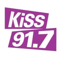 Logo de la radio CHBN-FM KiSS 91.7