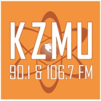 Logo of radio station KZMU 90.1