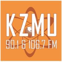 Logo of radio station KZMU 90.1