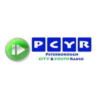 Logo of radio station Peterborough Youth Radio