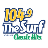 Logo of radio station WLHH 104.9 The Surf