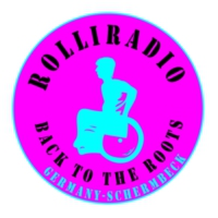 Logo of radio station # ROLLIRADIO # BACK TO THE ROOTS GERMAN