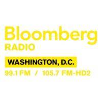 Logo of radio station WDCH-FM Bloomberg 99.1