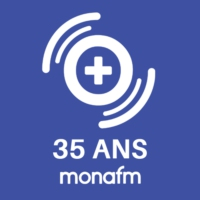 Logo of radio station Mona FM | 35 ans