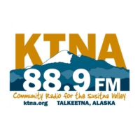 Logo of radio station KTNA 88.9 FM