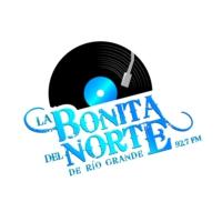 Logo of radio station La Bonita del Norte de Río Grande 92.7FM