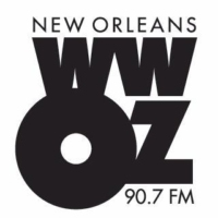 Logo of radio station WWOZ 90.7 FM