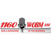 Logo of radio station WOBM