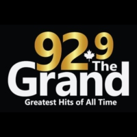 Logo of radio station 92.9 The Grand