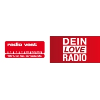 Logo of radio station Radio Vest – Dein Love Radio