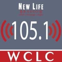 Logo of radio station New Life Radio WCLC 105.1