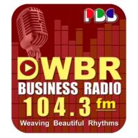 Logo of radio station DWBR 104.3fm