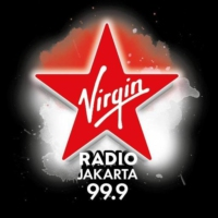Logo of radio station Virgin Radio Jakarta
