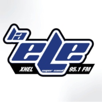 Logo of radio station XHEL La Ele FM