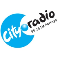 Logo de la radio City Radio Pattaya 90.25