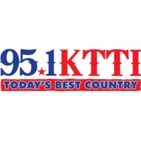 Logo of radio station KTTI 95.1