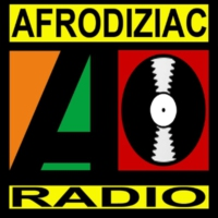 Logo of radio station AFRODIZIAC RADIO