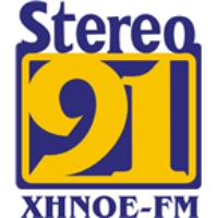 Logo of radio station XHNOE Stereo 91.3