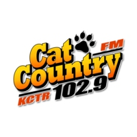 Logo of radio station KCTR Cat Country 102.9