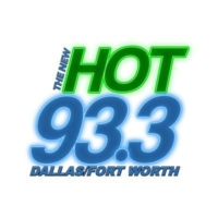 Logo of radio station KLIF-FM The New HOT 93.3