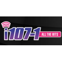 Logo of radio station KRQN i107.1