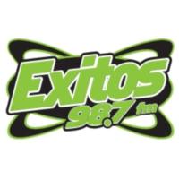 Logo of radio station KXTS Exitos 98.7