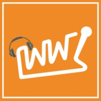 Logo of radio station Wüste Welle