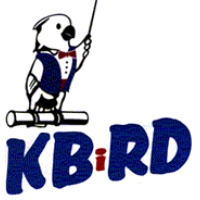 Logo of radio station KBRD