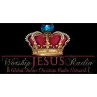 Logo of radio station WorshipJesusRadio