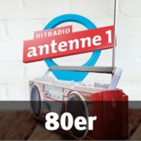 Logo of radio station antenne 1 80er