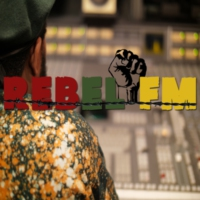 Logo of radio station Rebel FM