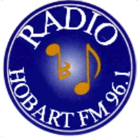 Logo of radio station Hobart FM