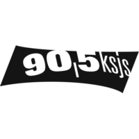 Logo of radio station KSJS 90.5fm