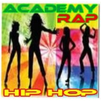Logo of radio station academy rap