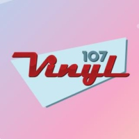Logo of radio station Vinyl 107