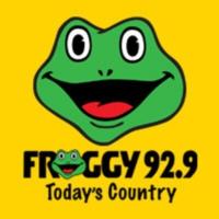 Logo of radio station KFGY Froggy 92.9