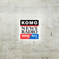 Logo of radio station KOMO 1000 AM
