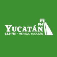 Logo of radio station XHYUC Yucatán 92.9 FM