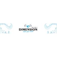 Logo de la radio Fm Dimensión 100.3 Mhz