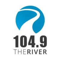 Logo de la radio WCVO 104.9 The River