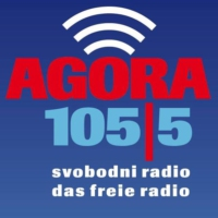 Logo of radio station radio AGORA 105,5
