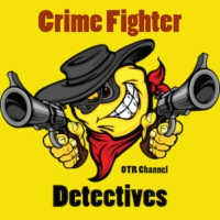 Logo of radio station Crime Fighters Detective Channel