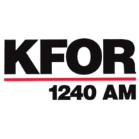 Logo of radio station KFOR