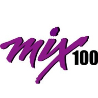 Logo of radio station KMMX Mix 100